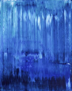 Blue Water 2, Painting, Acrylic on Canvas