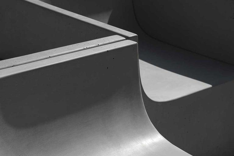'SHI' Modular Bench / Sofa Made of Concrete For Sale 6