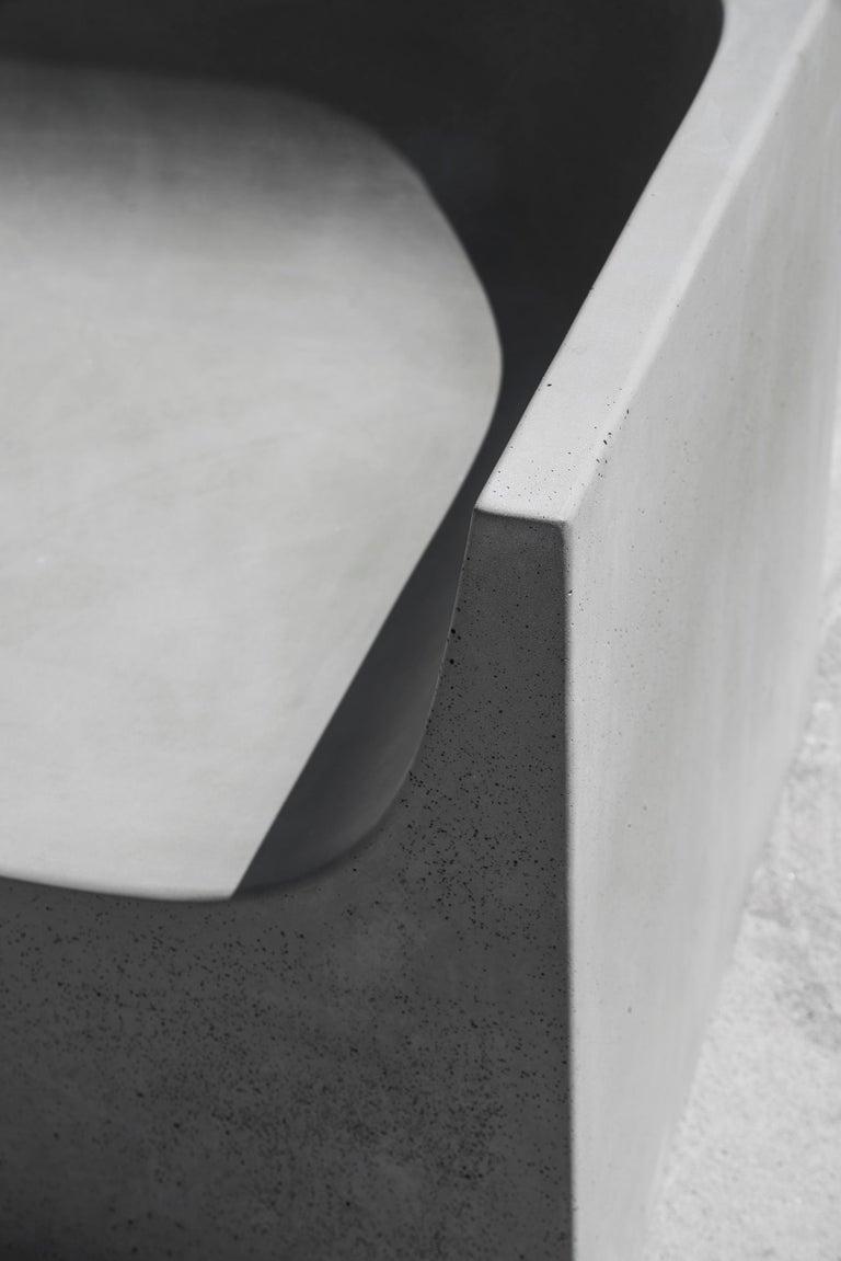 'SHI' Modular Bench / Sofa made of Concrete For Sale 8