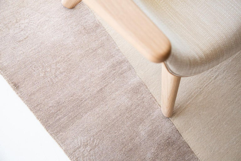 Modern Shift in Rug, Design Rhymes Collection by Mehraban For Sale