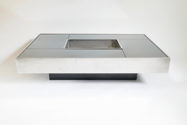 Minimalist Shilling Coffee Table by Giovanni Ausenda for Ny Form, 1970s For Sale