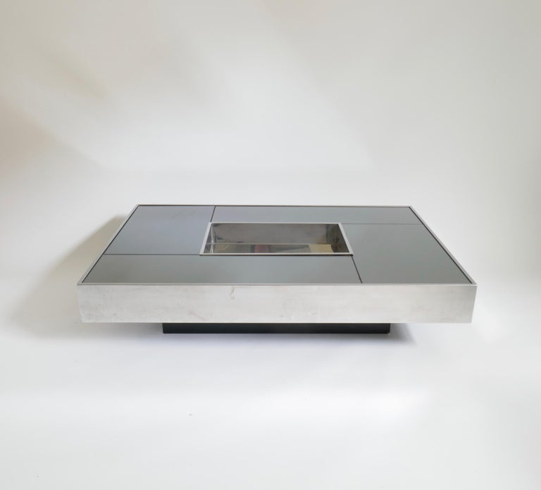 Italian Shilling Coffee Table by Giovanni Ausenda for Ny Form, 1970s For Sale