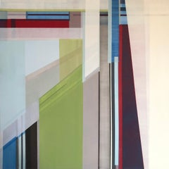 """""""The Sound,"""" Abstract Geometric Painting"""