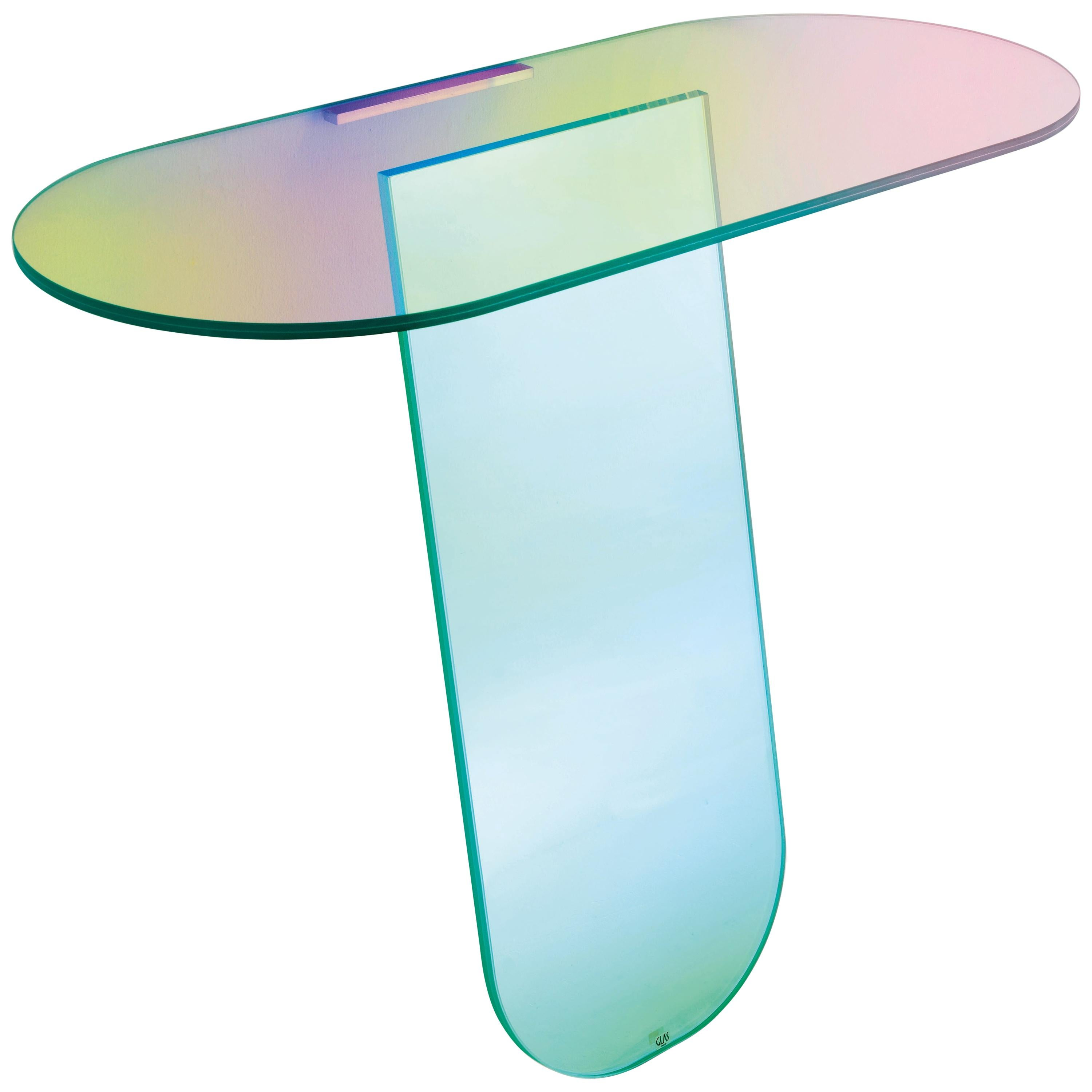 Shimmer Console Table, by Patricia Urquiola for Glas Italia
