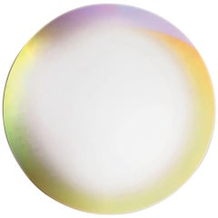Shimmer Large Round Iridescent Mirror, by Patricia Urquiola from Glas Italia