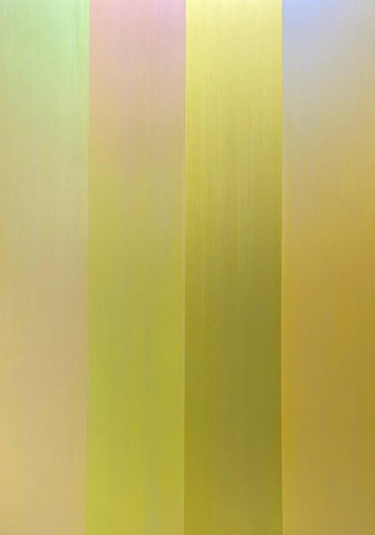 Shingo Francis Abstract Painting - Reflection in Four