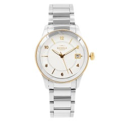 Shinola The Gail Steel Silver Guilloche Dial Quartz Ladies Watch 20052432