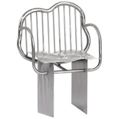 """Shiny Chair"" in Stainless Steel by Supaform"