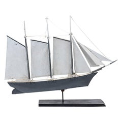 Ship Form Weathervane