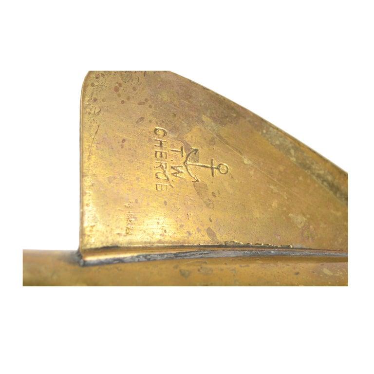 Ship Log signed John Bliss & Co. 1880 For Sale 7