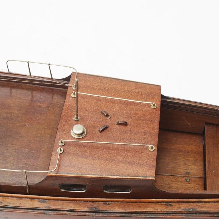 Ship Model, Vosper Motor Boat For Sale 4