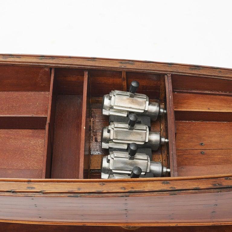 English Ship Model, Vosper Motor Boat For Sale