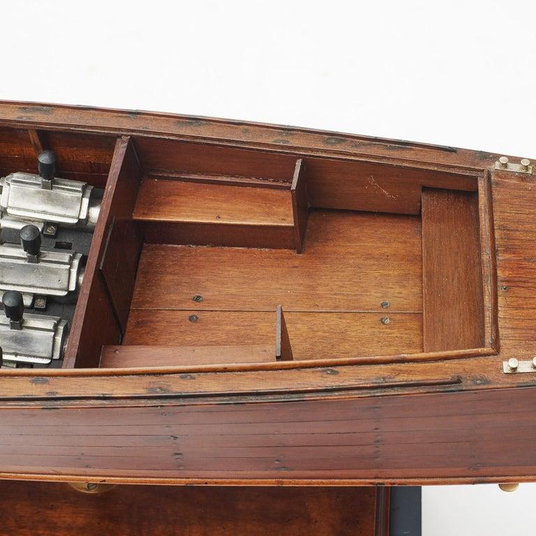 Ship Model, Vosper Motor Boat In Good Condition For Sale In Nordhavn, DK