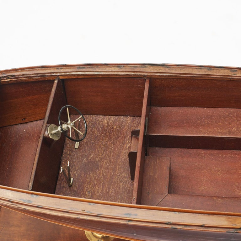 Mid-20th Century Ship Model, Vosper Motor Boat For Sale