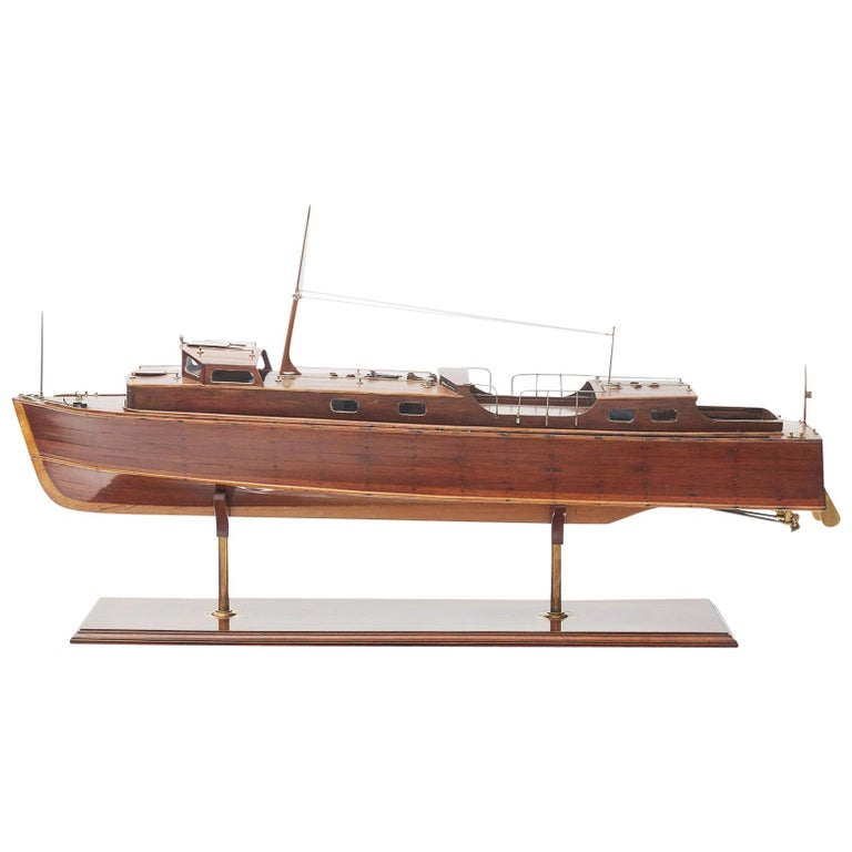 Ship Model, Vosper Motor Boat For Sale