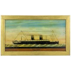 "Ship Portrait of Steamer ""Morro Castle"""