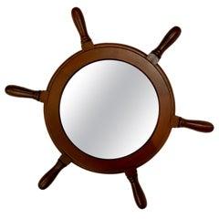 Ship Steering Wheel Mirror