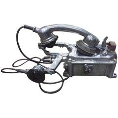 Ship's Aluminium Telephone
