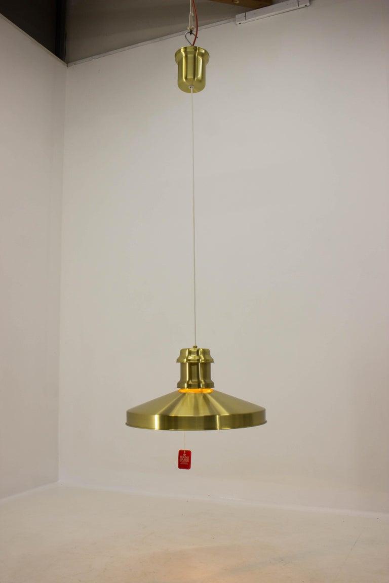 Shipslamp by Sidse Werner for Holmegaard, 1970s, Never Used For Sale 3