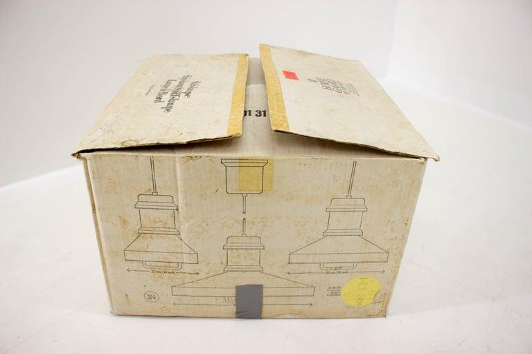 Shipslamp by Sidse Werner for Holmegaard, 1970s, Never Used For Sale 6