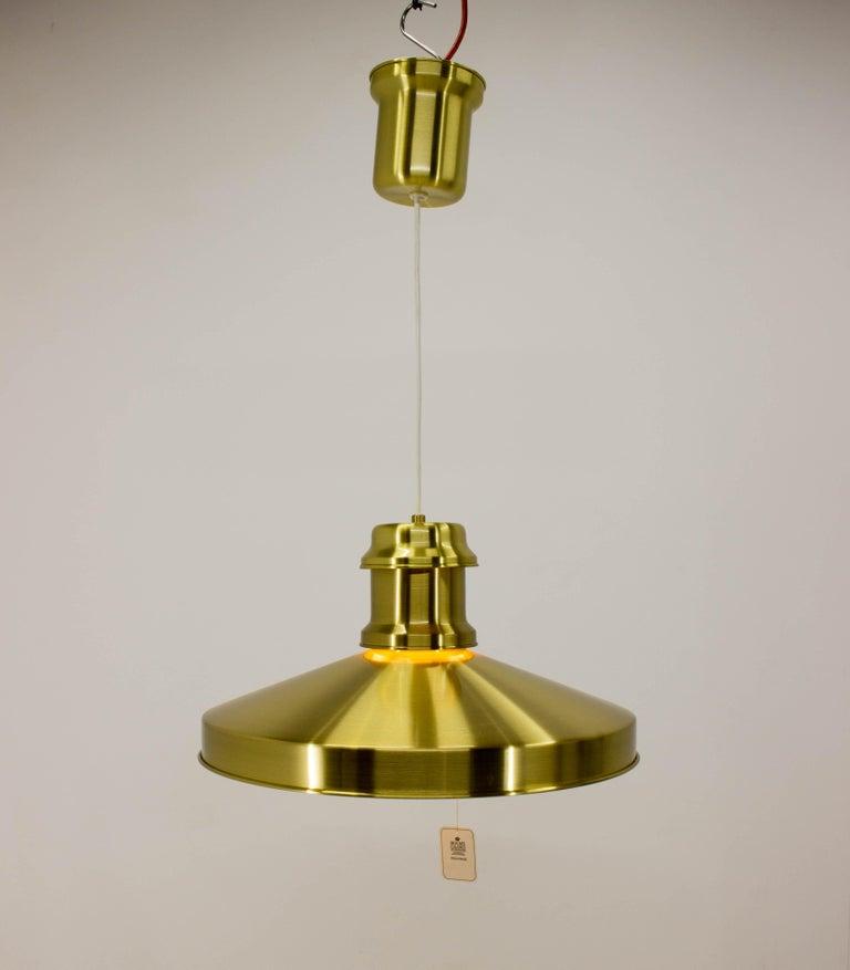 Mid-Century Modern Shipslamp by Sidse Werner for Holmegaard, 1970s, Never Used For Sale
