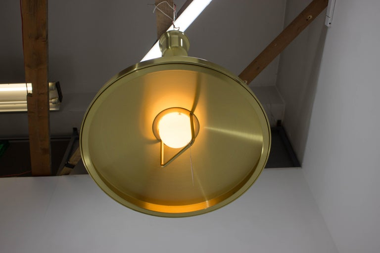 Shipslamp by Sidse Werner for Holmegaard, 1970s, Never Used In Excellent Condition For Sale In Praha, CZ