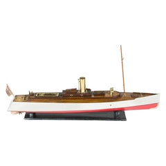 Shipyard Built Model of a Steam Launch, by Robertson & Sons of Argyll