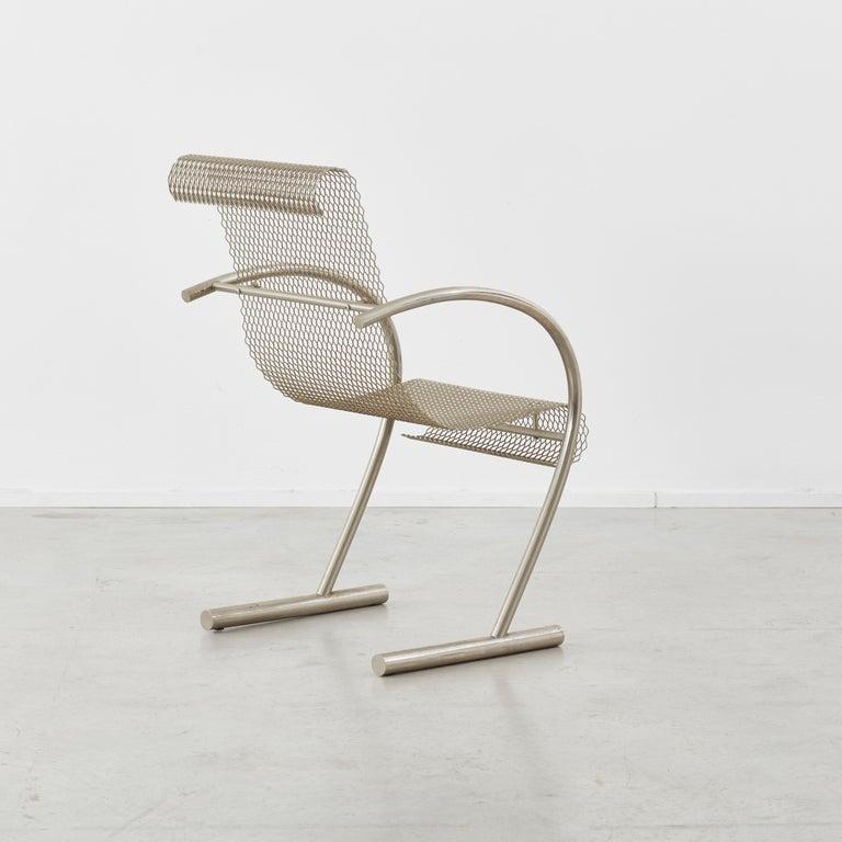 French Shiro Kuramata Sing Sing Sing Chairs XO, France, 1985 For Sale