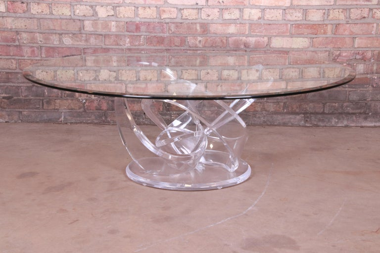 An exceptional modern coffee or cocktail table