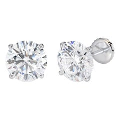 Shlomit Rogel, 2.00 Carat Excellent Cut Extra Shiny Diamond Studs Earrings