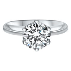 2.00 Carat Excellent Cut Extra Shiny Diamond Ring Certified - Shlomit Rogel