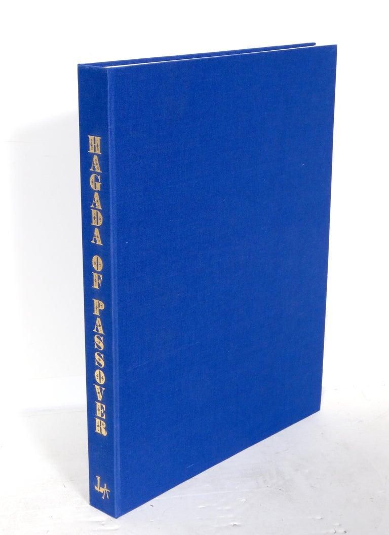 Haggadah of Passover, Portfolio of Lithographs by Shlomo Katz 1978 For Sale 3