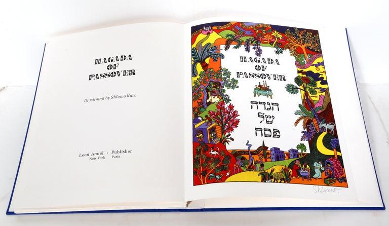 Haggadah of Passover, Portfolio of Lithographs by Shlomo Katz 1978 For Sale 4