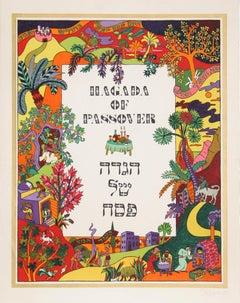 Haggadah of Passover, Portfolio of Lithographs by Shlomo Katz 1978