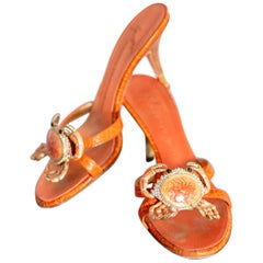 Shoes Giuseppe Zanotti Designer Vintage Sandals 1990s