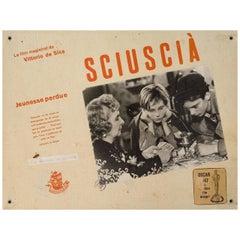 Shoeshine 1946 Swiss Scene Card