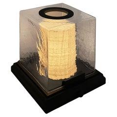 Shoji Table Lamp André Fu Living Art Déco Garden Brass Bronze Metal Crystal New