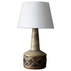 Søholm Keramik, Table Lamps, Glazed Stoneware, Bornholm, Denmark, 1960s
