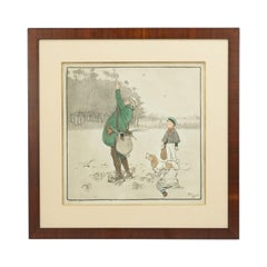 Shooting Print, The Shot by Cecil Aldin