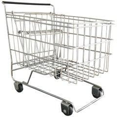 Shopping Cart Sculpture