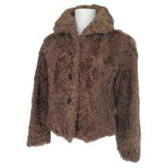 Short Curley Lamb Fur jacket