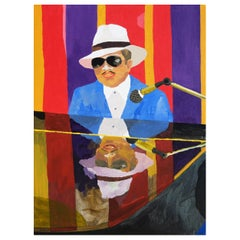 'Short Mike' Portrait Painting by Alan Fears Pop Art