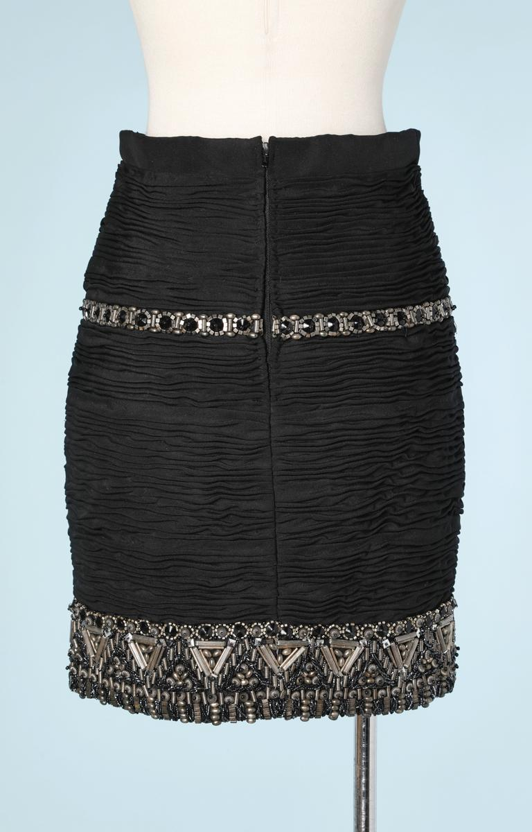 Women's Short skirt embroidered Atelier Versace For Sale