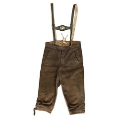 Short Trousers with Braces from Tyrol