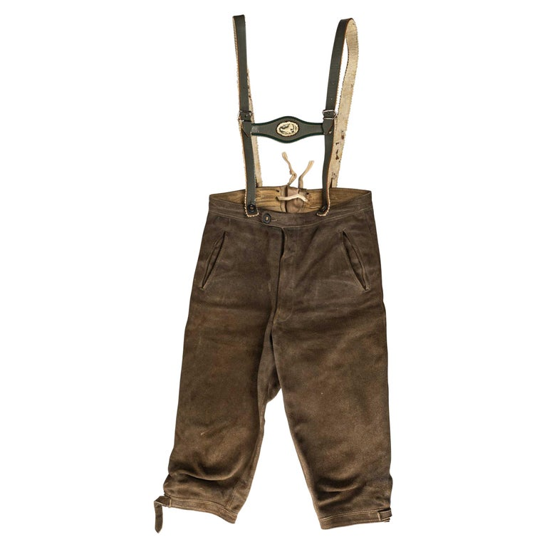 Short Trousers with Braces from Tyrol For Sale