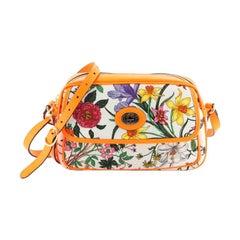 Shoulder Bag Flora Canvas Small