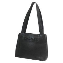 shoulder  logo  Womens  tote bag  black x gold hardware Leather