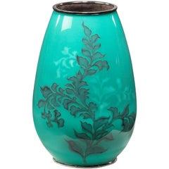 Showa Zeitraum Cloisonné Vase von Tamura