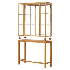 Showcase Cabinet Josef Frank Swedish Design circa 1946 Mahogany