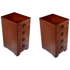 Showers Brothers Mahogany Chest of Drawers Nightstands